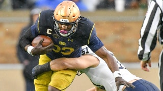 No.8 Notre Dame bounces back with 24-17 win over Navy