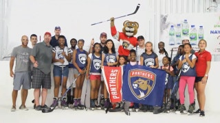 Summer break: Panthers hosted NHL's first hockey clinic in Caribbean