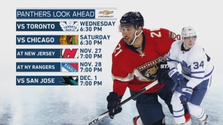 Panthers need balance, killer instinct as Maple Leafs, Blackhawks get set to visit