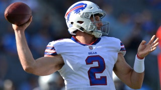 Buffalo's Nathan Peterman throws 5 interceptions in 1st half of his first NFL start