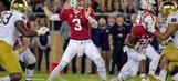 No. 21 Stanford takes down No. 8 Notre Dame 38-20
