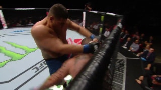BAM! Tai Tuivasa finishes Rashad Coulter with a huge flying knee at UFC Fight Night