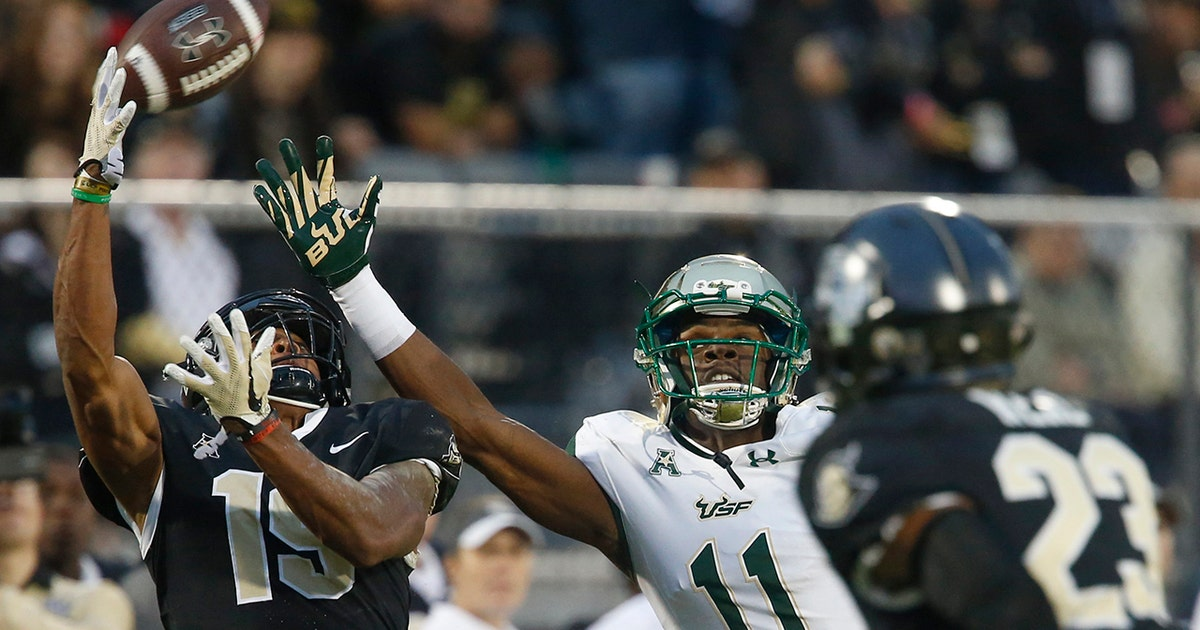 No. 15 UCF stays unbeaten after wild 49-42 win over South Florida (VIDEO)