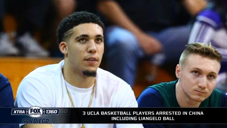3 UCLA basketball players arrested in China