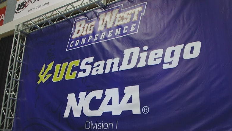UCSD announces it will be joining Division I and the Big West Conference