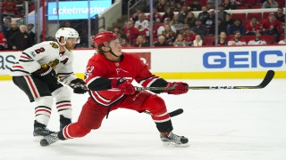 CANES LIVE TO GO: Chicago scores three straight to down Carolina in OT, 4-3.