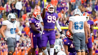 Clemson puts up 61 points as it takes care of business against The Citadel