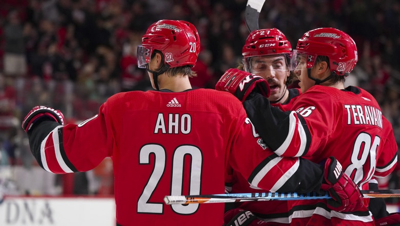 CANES LIVE TO GO: Hurricanes blown out by Rangers, 6-1