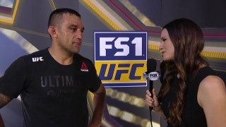 Fabricio Werdum post-fight interview | UFC FIGHT NIGHT