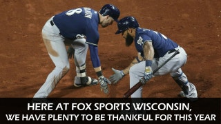 Things we're thankful for in Wisconsin sports