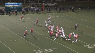 Playoffs, semifinals: Xavier Ugorji rumbles 23 yards for the TD