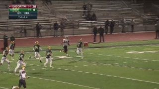 Playoffs, quarterfinals: Zach Charbonnet up the middle for 63 yards and a touchdown