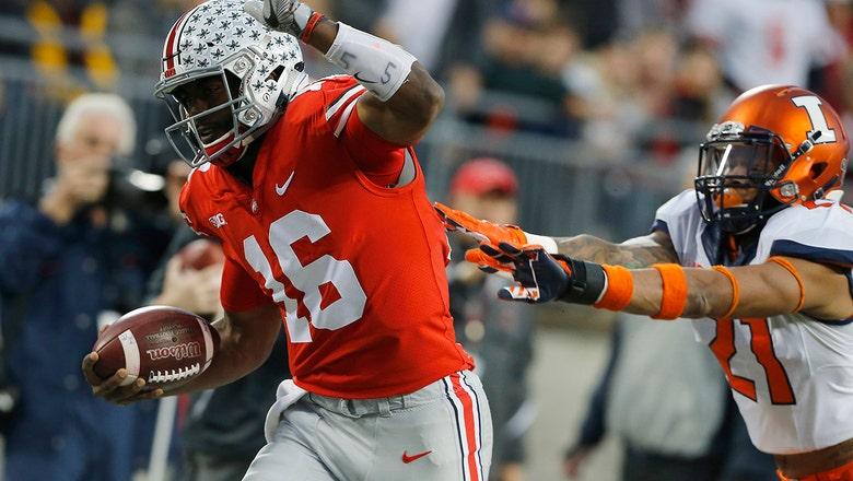 J.T. Barrett has milestone game as No. 9 Ohio State dismantles Illinois