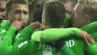 Hertha Berlin vs. Monchengladbach | 2017-18 Bundesliga Highlights