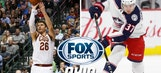 Channel information for Blue Jackets and Cavs on Saturday December 16