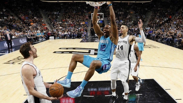 Hornets LIVE To GO: Hornets hang around but fall to the Spurs