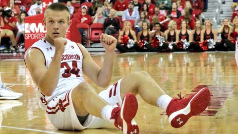 Brad Davison, Badgers guard