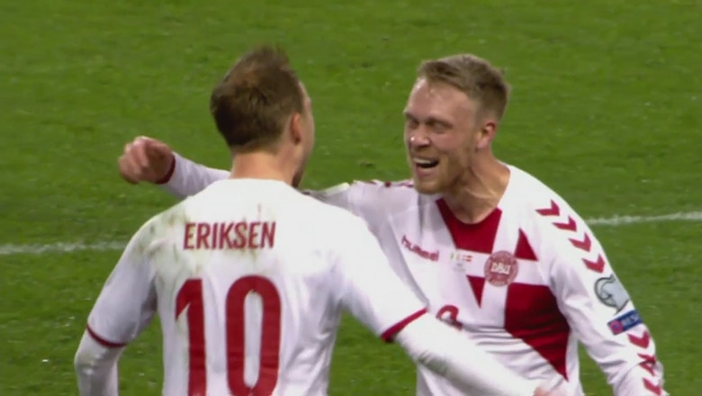 Christian Eriksen gives Denmark vital 2-1 lead | 2017 World Cup Qualifying Highlights