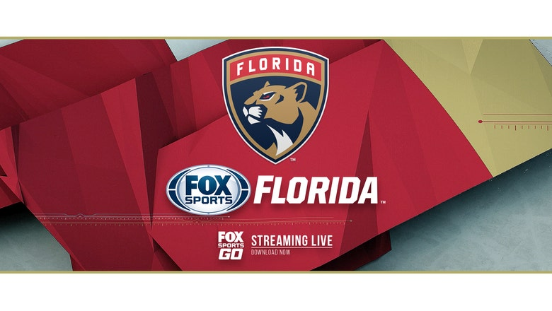 FOX Sports Florida to live stream Florida Panthers free agency news conference at 1 p.m.