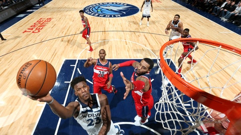 Porter helps Wizards edge Timberwolves 92-89