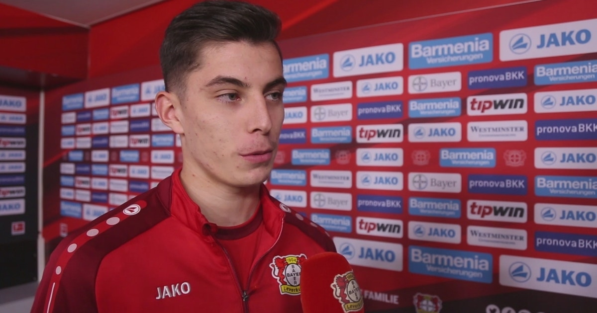 18-year-old Kai Havertz on high school exams, the Bundesliga youth movement and Bayer Leverkusen's new coach (VIDEO)