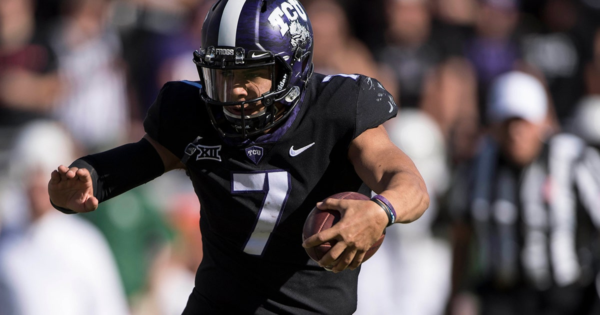 No. 12 TCU routs Baylor, clinches Big 12 title game spot in raucous Rivalry Week matchup  (VIDEO)