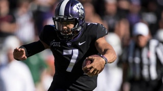 No. 12 TCU routs Baylor, clinches Big 12 title game spot in raucous Rivalry Week matchup