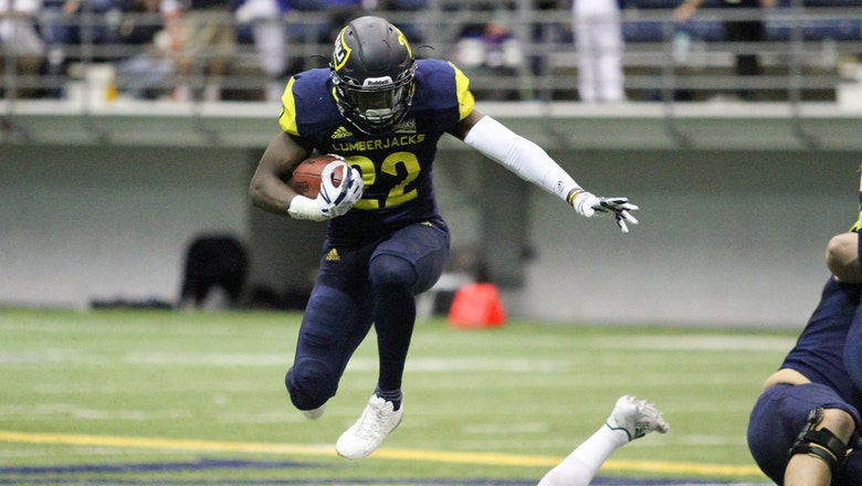 Lumberjacks hold off Montana St. with stand on late 2-point conversion try