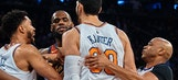 Skip on Enes Kanter defending Frank Ntilikina: 'I applaud him for getting in the face of a LeBron James'