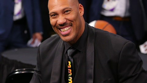 Jun 22, 2017; Brooklyn, NY, USA; LaVar Ball the father of NBA prospect Lonzo Ball (not pictured) in attendance before the first round of the 2017 NBA Draft at Barclays Center. Mandatory Credit: Brad Penner-USA TODAY Sports