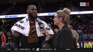 After disciplined Thanksgiving, LeBron is ready for leftovers and OSUMichigan