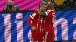 Lewandowski strikes for Bayern against Augsburg | 2017-18 Bundesliga Highlights