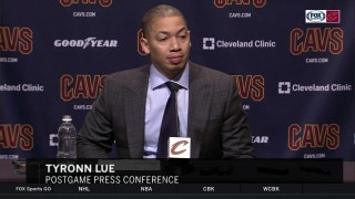 Ty Lue on the 'fine line' and 'give-and-take' of coaching the Cavs