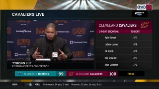 Ty Lue on Cavs' improving defensive effort, execution