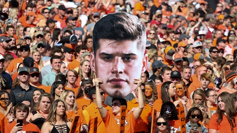FALL GUYS: Mason Rudolph, Oklahoma State QB