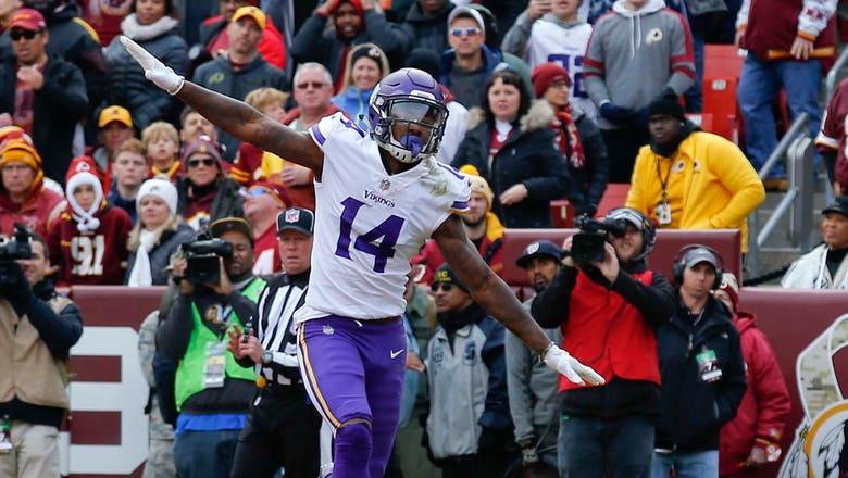 Vikings receiver Diggs focused on 2018 after 'Minneapolis miracle'