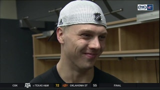Markus Nutivaara calls win over Buffalo a little 'too exciting'