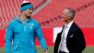 Greg Olsen says he'll be back on practice field tomorrow
