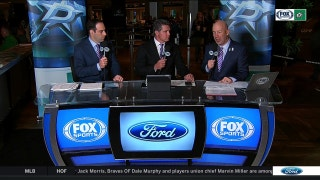 Remembering Dave Strader on Hockey Fights Cancer night