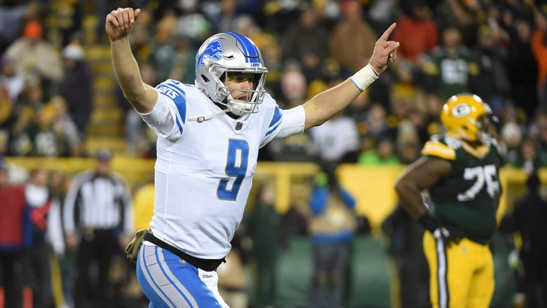 Stafford, Lions look to stay on a roll against Bears