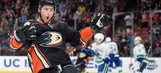 Ducks ride three power-play goals to victory over Canucks