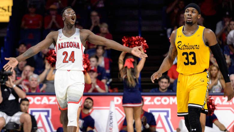 Arizona tops 100 again to blow out Maryland-Baltimore County