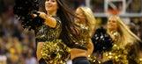 2017-18 NCAA basketball cheerleaders