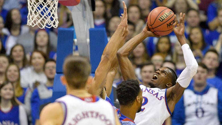 Kansas opens season with 92-56 victory over Tennessee State