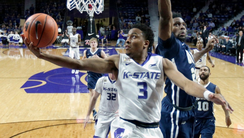 K-State starts slow but gets the 77-68 win over Oral Roberts