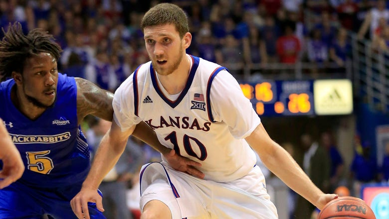 Kansas coasts to 98-64 win over South Dakota State