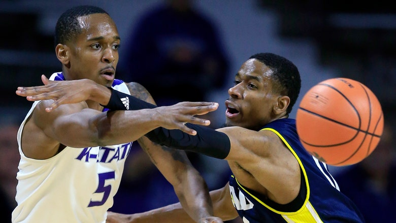 Kansas State ties steals mark in lopsided win over NAU