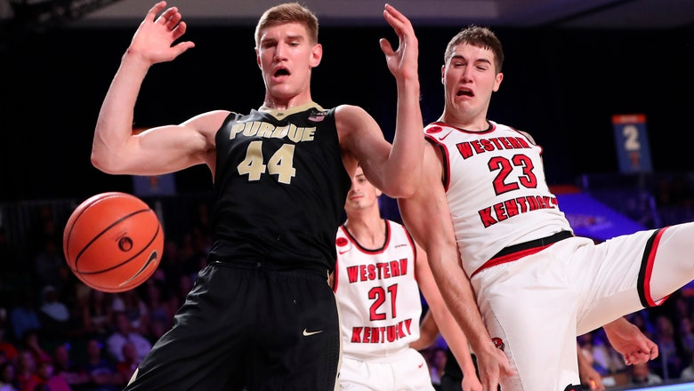 Upset by Western Kentucky drops Purdue to 0-2 in Bahamas