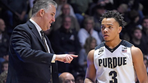 Purdue-Wisconsin basketball score