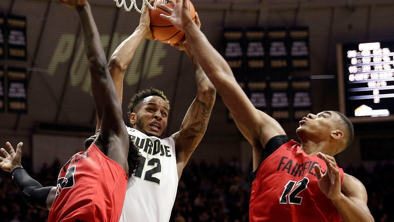 Boilermakers use huge first half to fuel 106-64 win over Fairfield